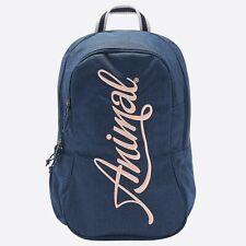 ANIMAL WOMENS BACKPACK.NEW BRIGHT NAVY BLUE RUCKSACK SCHOOL UNI BAG.20L 9S 1/X24