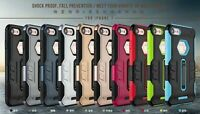 New ! Shcokproof fall prevent Tough Case cover with stand Apple iphone7&8 plus