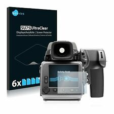 Hasselblad H5D-200MS,6 x Transparent ULTRA Clear Screen Protector For Hasselblad