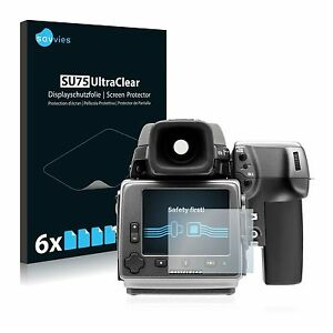 Hasselblad 6 x Transparent ULTRA Clear Screen Protector For Hasselblad H4D-60