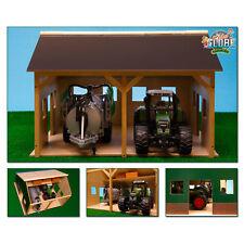 Van Manen Spielzeug Holz Fahrsilo Silo Bauernhof Landwirtschaft 38x46x5 cm Kleinkindspielzeug