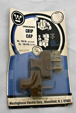 Unbreakable NEW Vintage Stock NOSTALGIC Electrical PLUG Lot Westinghouse BROWN