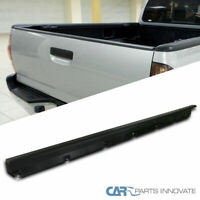 Fit 05-15 Toyota Tacoma Pickup Black ABS Tailgate Moulding Protector Cover Top