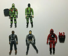 GI Joe Red Laser Army figure lot z-force & red shadows