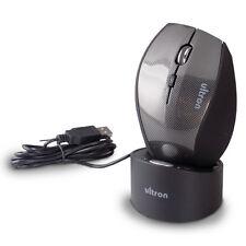 Ultron UWM-1 kabellose Maus mit Ladestation 1600dpi Wireless NEU