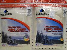 New Tall Mens Indera Mills Long Johns Thermal Underwear Set 3X