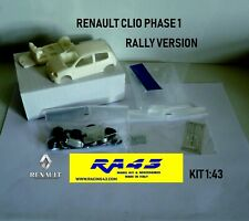 1/43 Renault Clio fase 1 Rally version Kit