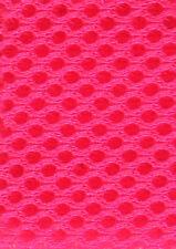 3D Airmesh 4 mm Top Qualität - Neon Pink 160cm Breite