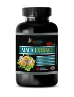 natural testosterone - PREMIUM MACA BLEND 1600mg - male stamina energy 1 Bottle