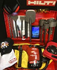 HILTI TE 76P-ATC HAMMER DRILL, PREOWNED, FREE TABLET, TONS OF EXTRAS, QUICK SHIP