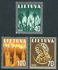 Lithuania 1991 406/08 National Symbols (3 Val