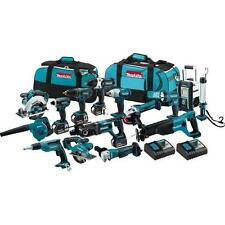 Makita XT1500 18-Volt LXT Lithium-Ion Cordless 15-Piece Power Tool Combo Kit