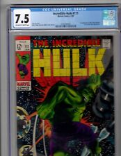 Hulk #111 CGC 7.5 1969