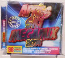 APRES SKI MEGAMIX 2014 + 96 fetenhits pour la fête + non stop humeur sur 2 CD