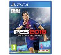 Pes 2018 PS4 Pro Evo Soccer Jeu pour Sony Playstation 4 Tout Nouveau Evolution
