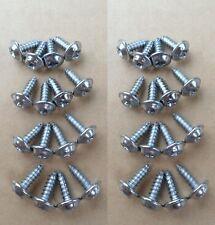 32 CHROME WHEEL WELL SCREWS! 60-70'S GM CHEVY CORVAIR CUTLASS C10 442 GTO LEMANS