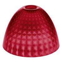 Koziol Stella Silk S Lampenschirm Lampe Schirm Tischlampenschirm Transparent Red