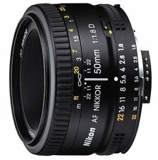 Brand New Nikon 50mm  F/1.8D AF Lens w/ UV Filter + 5 Year Celltime Warranty