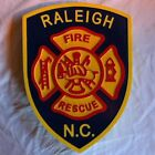 Fire Department Raleigh 3D routed wood patch plaque sign Custom