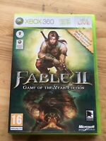 Xbox 360 FABLE II 2 Game Of The Year Edition GOTY Boxed New Old Stock PAL UK
