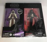 "Star Wars The Black Series 6"" Darth Revan + Jedi Knight Revan Case Fresh"