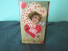 VINTAGE BUSINESS CARD HOLDER FOR THE CONSUMMATE CARD ENTHUSIAST