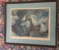 Sunol Alvar Limited Edition Lithography Print Numbered and Signed by Artist