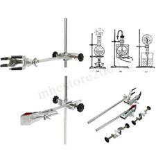 Laboratory Stands Support and Lab Clamp Flask Clamp Condenser Clamp Stands  !