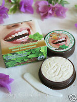 25g Herbal Natural Toothpaste, Charcoal, Coconut, Clove, Mint, Teeth Whitening