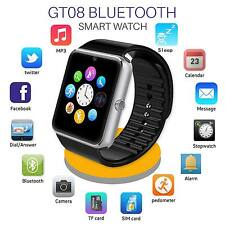 NUOVO GT08 Bluetooth Smart Touch Screen 1.54? Orologio telefono Mate Per iOS & Android