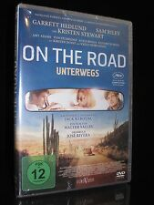 DVD ON THE ROAD - UNTERWEGS - ROADMOVIE mit KRISTEN STEWART + SAM RILEY * NEU *