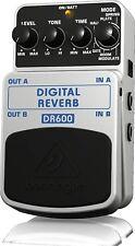 Behringer DR600 Digital Reverb Stompbox Pedal