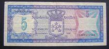 Nederlandse Antillen Netherlands Antilles - 5 gulden 1980 - 23-12-1980 PICK 15-A