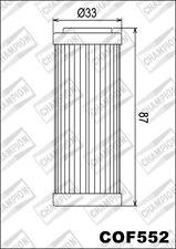 COF552 Filtro De Aceite CHAMPION KTM450 XC-W Seis Days4502010>2011