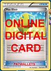 4X Max Elixir 102/122 Pokemon Online Card TCG PTCGO Digital Card
