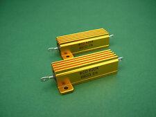 2 x 880 Ohm 50W non-inductive Power Resistors -> 300B tube amp Röhrenverstärker