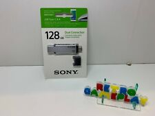 CLE USB SONY DUAL CONNECTION - 128GB - USB TYPE C & A