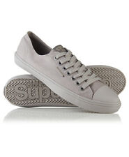 Superdry Mens Sneakers Low Pro Sleek Mono Mens Sneakers, US 11, Dove grey Shoes