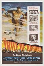 THE THIEF OF BAGDAD Movie POSTER 27x40 E Conrad Veidt Sabu June Duprez John
