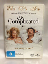 IT'S COMPLICATED~ MERYL STREEP + STEVE MARTIN + ALEC BALDWIN ~ AS NEW DVD