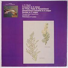 BACH: Concerto A Minor, Flute Violin Harpsichord DART L'Oiseau Lyre UK DART lp