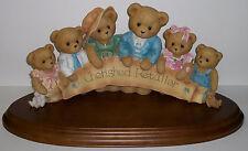 Cherished Teddies Cherished Retailer Figurine # 829870 LARGE NEW Family