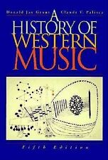 (Good)-A History of Western Music (Hardcover)-Grout, Donald Jay-0393969045