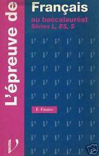 L'epreuve De Francais - Bac L-ES-S - LISA