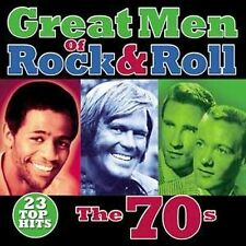 Great Men of Rock & Roll: The 70s by Various Artists - New Sealed CD