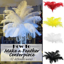 35-40CM Plumes Crafts DIY Artificial Ostrich Feathers Wedding Decorations
