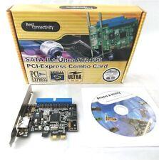 I/O Controller tarjeta PCI-E, ultra-ata133 SATA-II combo card, RAID, retail