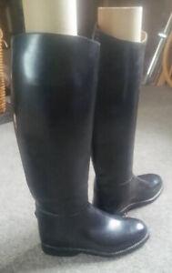 French Aigle Riding Equestrian Boots EUC 38