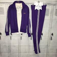 Cheerleading Uniform Vintage Pants Set Pep Squad
