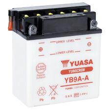 NEW 12V9AH 125CCA YUASA Motorcycle Battery YB9A-A
